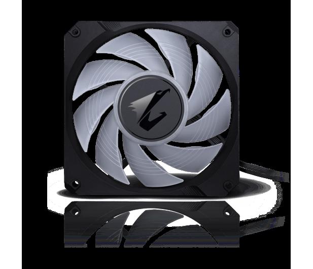Gigabyte Aorus Liquid Cooler RGB 240 2x120mm - 525212 - zdjęcie 7