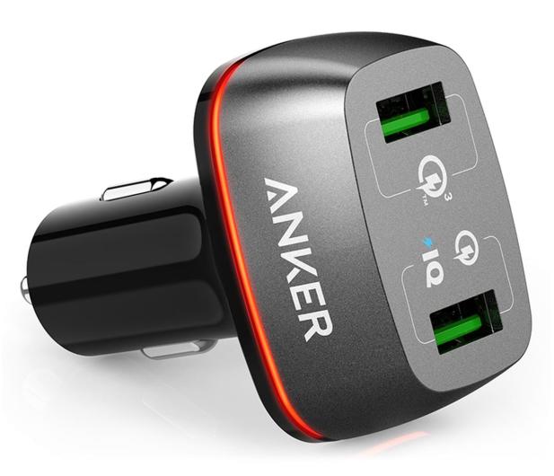 Anker Ładowarka samochodowa 2x USB, QC 3.0 - 525758 - zdjęcie