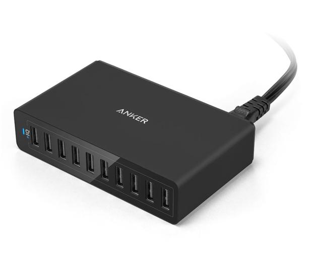 Anker Ładowarka sieciowa 10x USB  - 525765 - zdjęcie 2