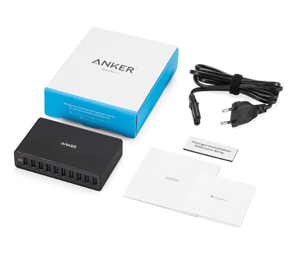 Anker Ładowarka sieciowa 10x USB  - 525765 - zdjęcie 4
