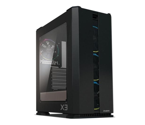 Zalman X3 Black TG RGB - 525601 - zdjęcie