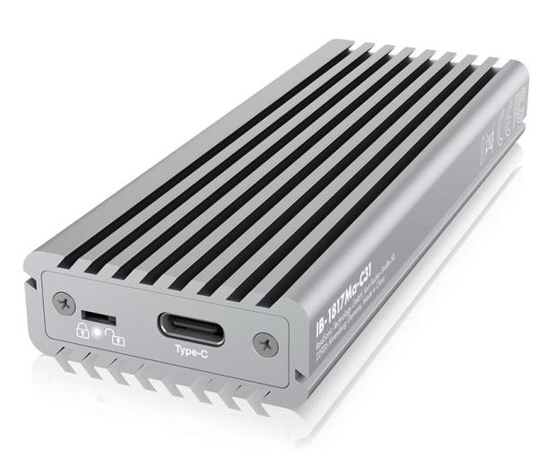 ICY BOX Obudowa do dysku M.2 NVMe (USB-C, M-Key) - 525274 - zdjęcie