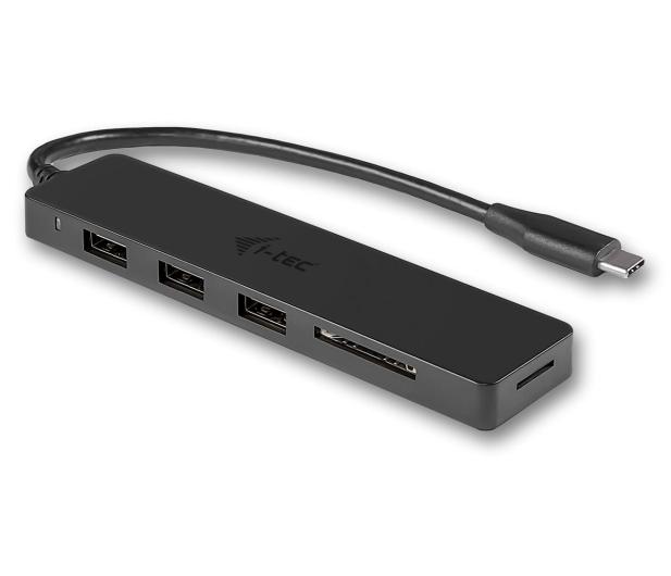 i-tec Hub USB-C - 3x USB, USB-C, SD - 525657 - zdjęcie