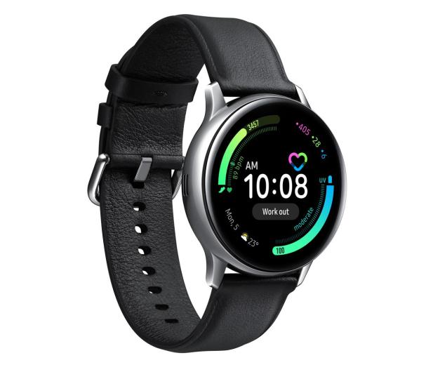 Samsung Galaxy Watch Active 2 Stal 40mm Silver LTE - 526909 - zdjęcie