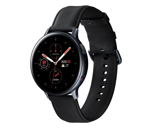 Samsung Galaxy Watch Active 2 Stal 44mm Black LTE - 526899 - zdjęcie 3