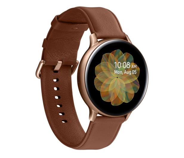 Samsung Galaxy Watch Active 2 Stal 44 mm Gold LTE - 526895 - zdjęcie