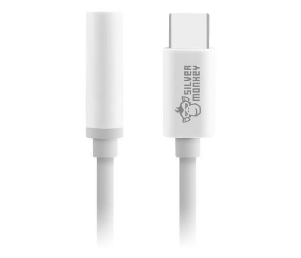 Silver Monkey Adapter USB-C - 3.5mm MiniJack - 510984 - zdjęcie