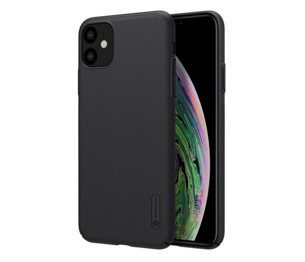Nillkin Super Frosted Shield do iPhone 11 czarny - 526215 - zdjęcie