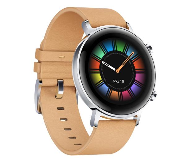 Huawei Watch GT 2 42mm Classic srebrny - 527031 - zdjęcie