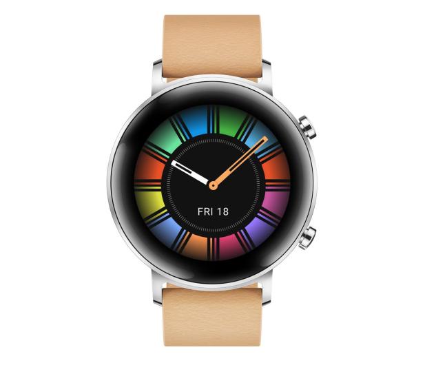 Huawei Watch GT 2 42mm Classic srebrny - 527031 - zdjęcie 2