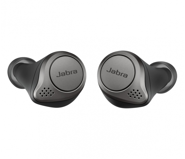 Jabra Elite 75t srebrne  - 533529 - zdjęcie 2