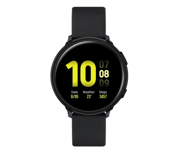 Spigen Liquid Air do Galaxy Watch Active 2 czarny - 532960 - zdjęcie 5