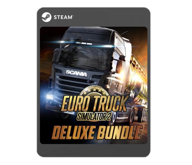 PC Euro Truck Simulator 2 (Deluxe Bundle) ESD Steam - 525123 - zdjęcie