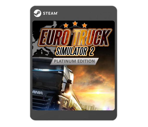 PC Euro Truck Simulator 2 - Platinum Edition ESD - 525131 - zdjęcie