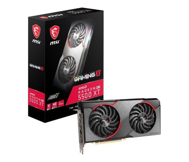 MSI Radeon RX 5500 XT GAMING X 8GB GDDR6 - 533901 - zdjęcie