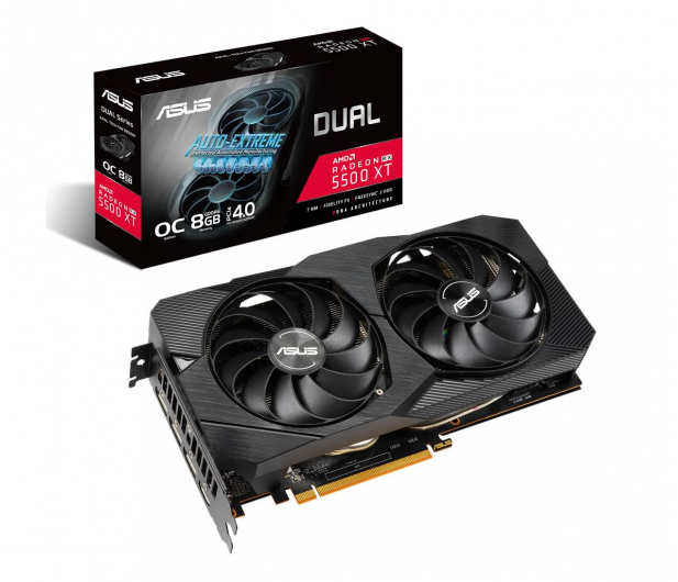ASUS Radeon RX 5500 XT DUAL EVO OC 8GB GDDR6 - 533898 - zdjęcie