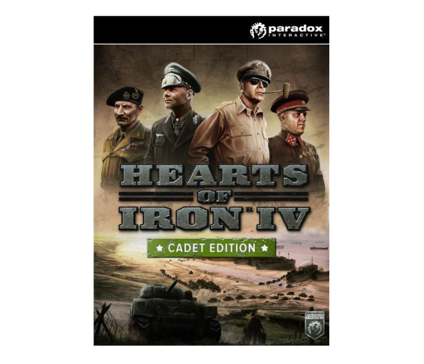 PC Hearts of Iron IV (Cadet Edition) - CUT ESD Steam - 525362 - zdjęcie
