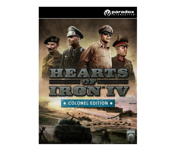 PC Hearts of Iron IV (Colonel Edition) Cut ESD Steam - 525364 - zdjęcie