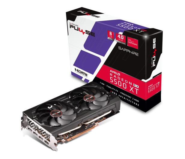 Sapphire Radeon RX 5500 XT PULSE 8GB GDDR6 - 533863 - zdjęcie