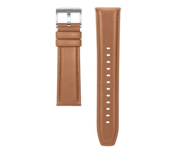 Huawei Pasek Skórzany do Huawei Watch GT jasny brąz - 533753 - zdjęcie