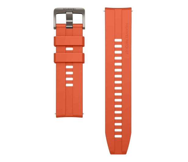 Huawei Pasek Silikonowy do Huawei Watch GT pomarańczowy - 533752 - zdjęcie