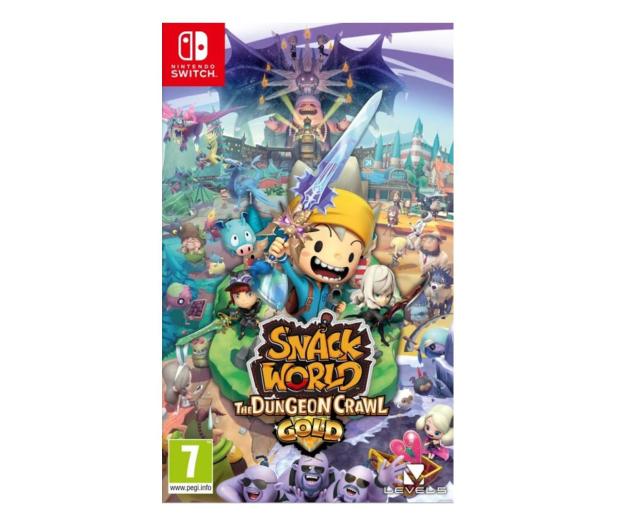 Switch Snack World: The Dungeon Crawl - Gold - 534986 - zdjęcie