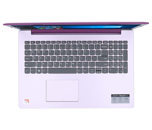 Lenovo IdeaPad 330-15 A6-9225/8GB/500/Win10 Fioletowy  - 543289 - zdjęcie 4