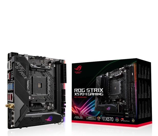 ASUS ROG STRIX X570-I GAMING - 533018 - zdjęcie