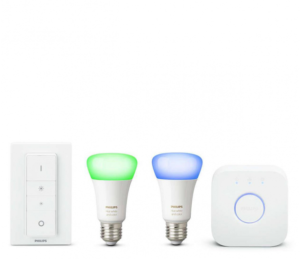 Philips Hue White and Color Ambiance Zestaw (2szt. E27) - 534165 - zdjęcie 2