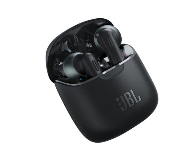 JBL Tune T220TWS Czarne - 535070 - zdjęcie