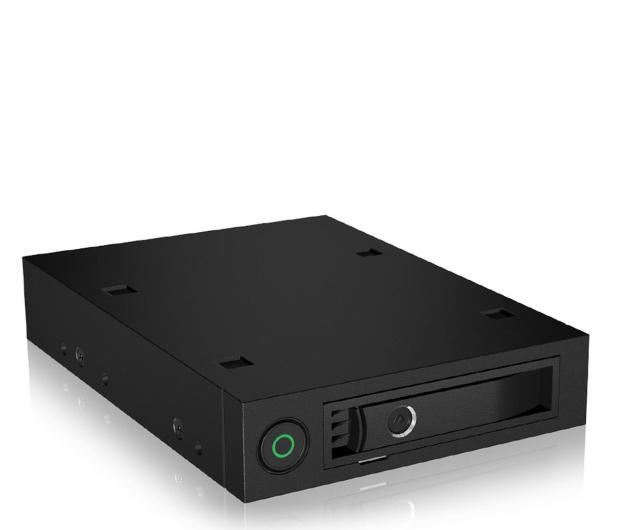 """ICY BOX Kieszeń na dysk 2.5"""" SATA/SAS HDD/SSD (RACK) - 535277 - zdjęcie"""