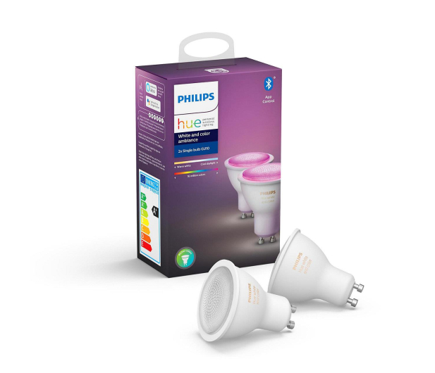 Philips Hue White and Colour Ambiance (2szt. GU10) - 531673 - zdjęcie 2