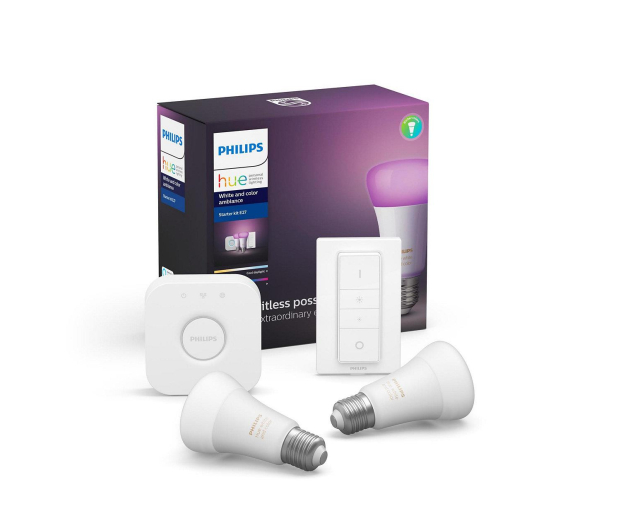 Philips Hue White and Color Ambiance Zestaw (2szt. E27) - 534165 - zdjęcie