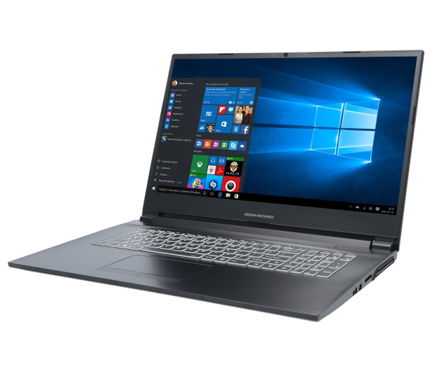Dream Machines RG2060 i7-9750H/8GB/1TB/Win10X RTX2060  - 535171 - zdjęcie 4