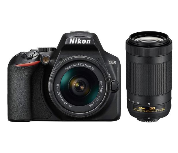 Nikon D3500 + AF-P 18-55 + AF-P DX 70-300  - 535780 - zdjęcie 5