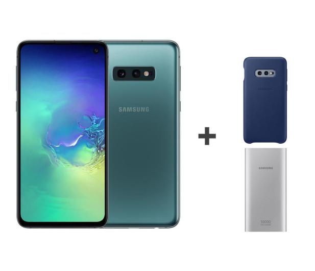 Samsung Galaxy S10e G970F Prism Green + ZESTAW - 493908 - zdjęcie