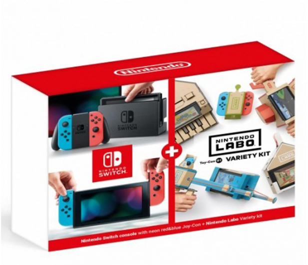 Nintendo Switch Joy-Con R/Blue + Labo Variety kit   - 535192 - zdjęcie