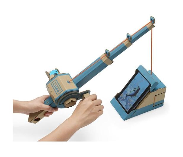 Nintendo Switch Joy-Con R/Blue + Labo Variety kit   - 535192 - zdjęcie 8