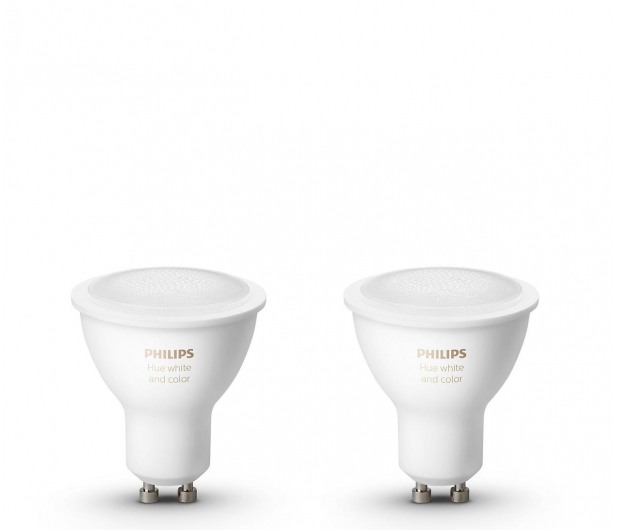 Philips Hue White and Colour Ambiance (2szt. GU10) - 531673 - zdjęcie