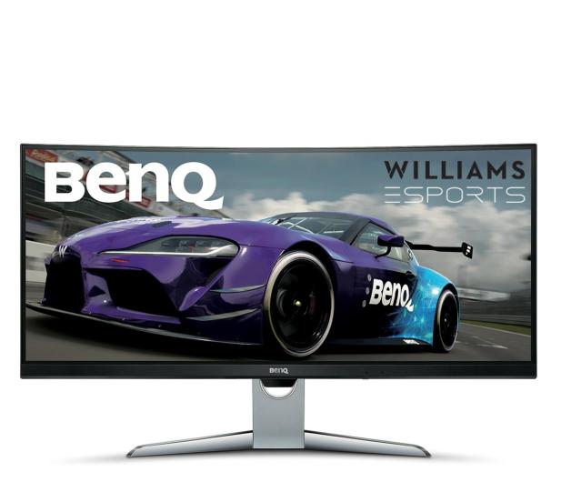 BenQ EX3501R Curved srebrno-czarny - 377982 - zdjęcie
