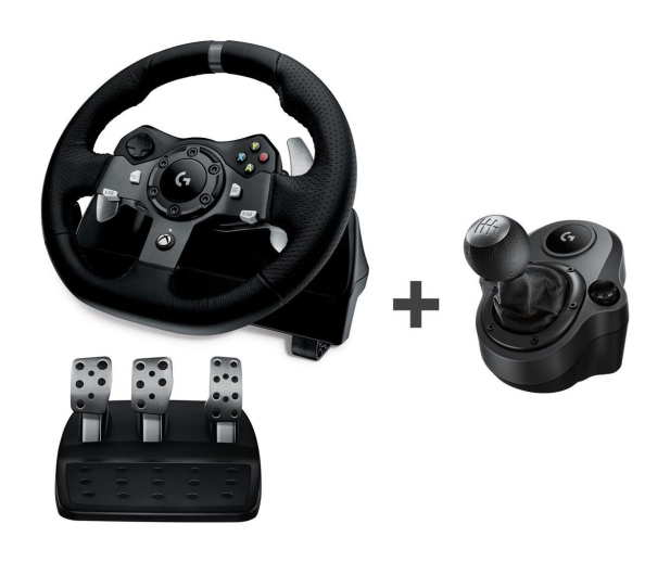Logitech G920 Xbox One/PC + Driving Force Shifter - 468277 - zdjęcie