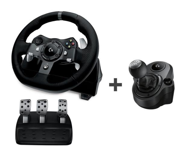 Logitech G920 + Shifter Xbox One/PC - 468277 - zdjęcie