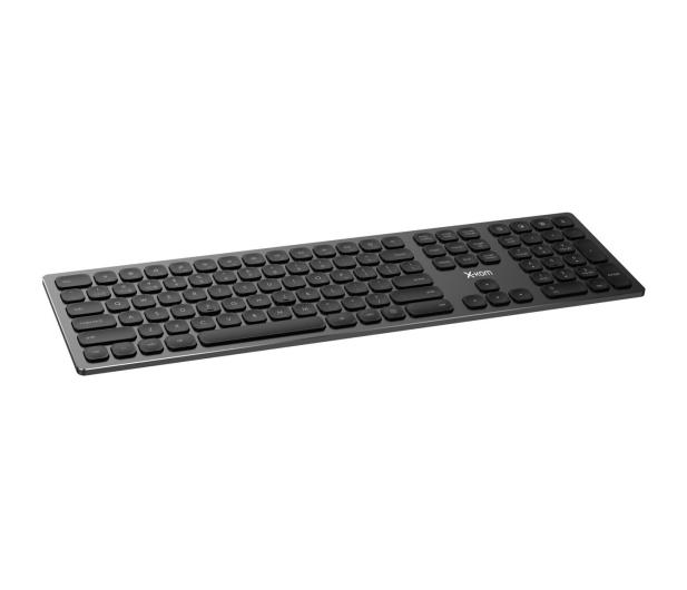 x-kom Aluminium Wireless Keyboard (Czarna) - 516247 - zdjęcie 4