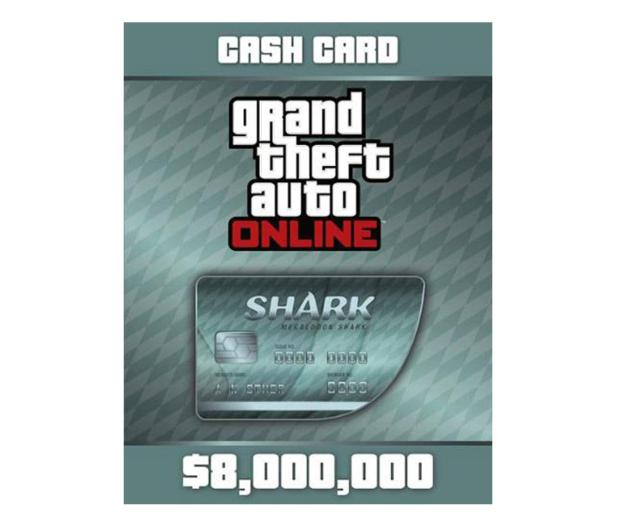 PC GTA V Megalodon Shark Cash Card Social Club - 525349 - zdjęcie