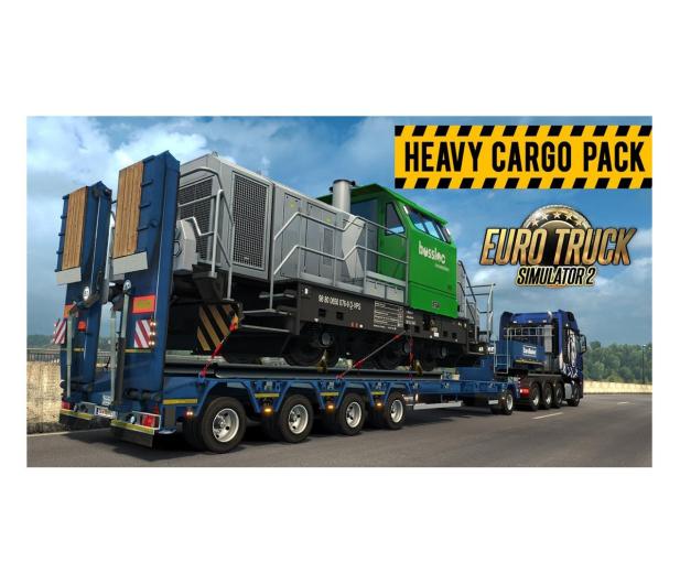 PC Euro Truck Simulator 2 -Heavy Cargo Pack (DLC) ESD - 525129 - zdjęcie