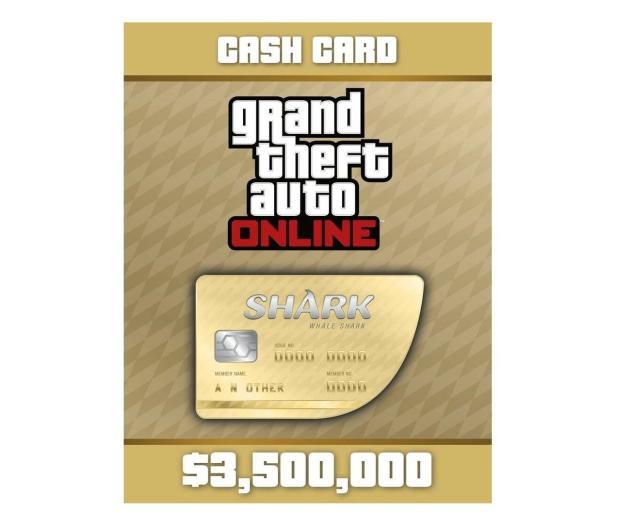 PC GTA V Whale Shark Cash Card Social Club ESD - 525350 - zdjęcie