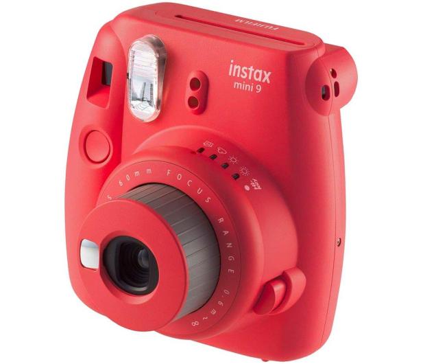 Fujifilm Instax Mini 9 czerwony wkład 2x10+Etui+Ramka  - 529250 - zdjęcie 3
