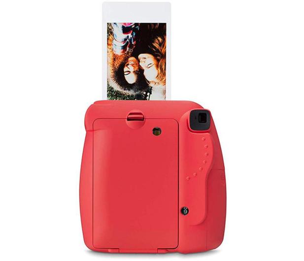 Fujifilm Instax Mini 9 czerwony wkład 2x10+Etui+Ramka  - 529250 - zdjęcie 4