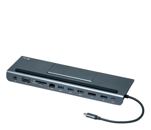 i-tec Stacja dokująca (USB-C, 3x HDMI, 85W, VGA, DP) - 503660 - zdjęcie