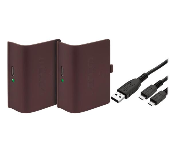 Venom XBO Twin Battery Pack + 2 metrowy kabel - red - 530795 - zdjęcie